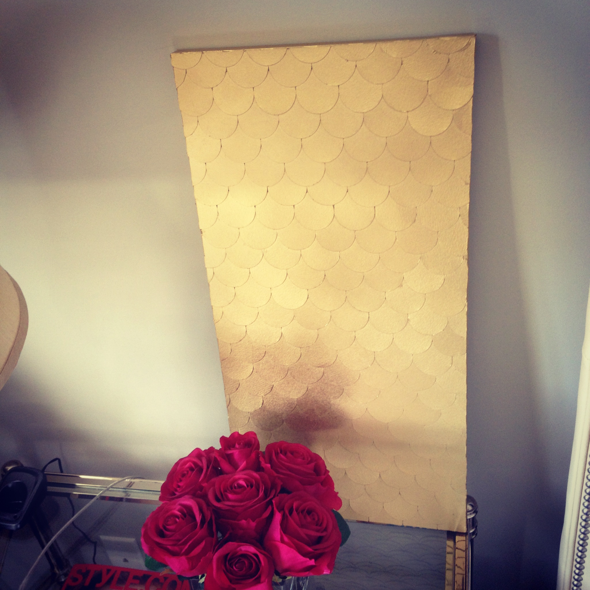 Fish Scale Wall Art Tutorial   The Subtle Statement