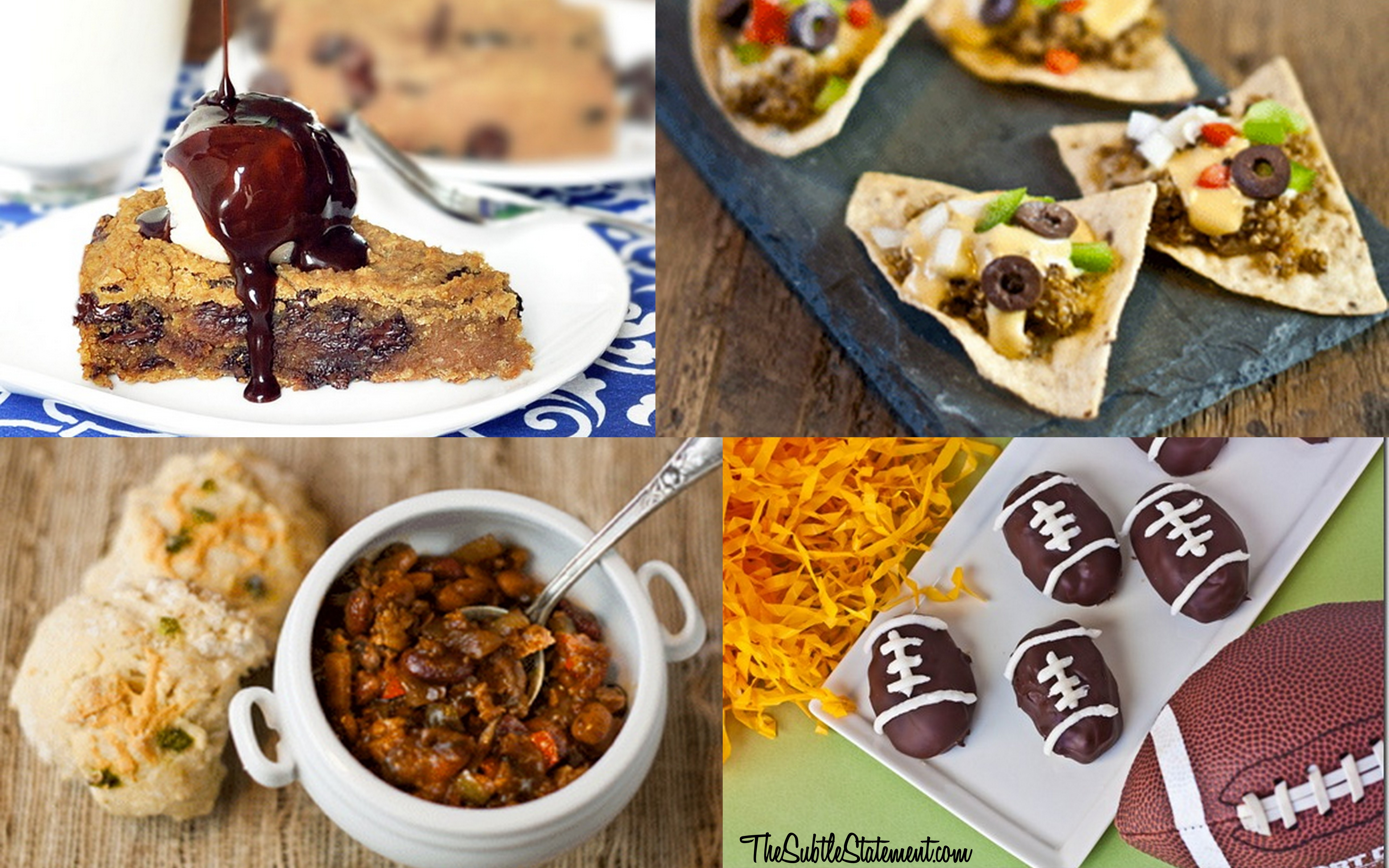 Healthy super bowl recipes the subtle statement healthy super bowl recipes healthy forumfinder Image collections