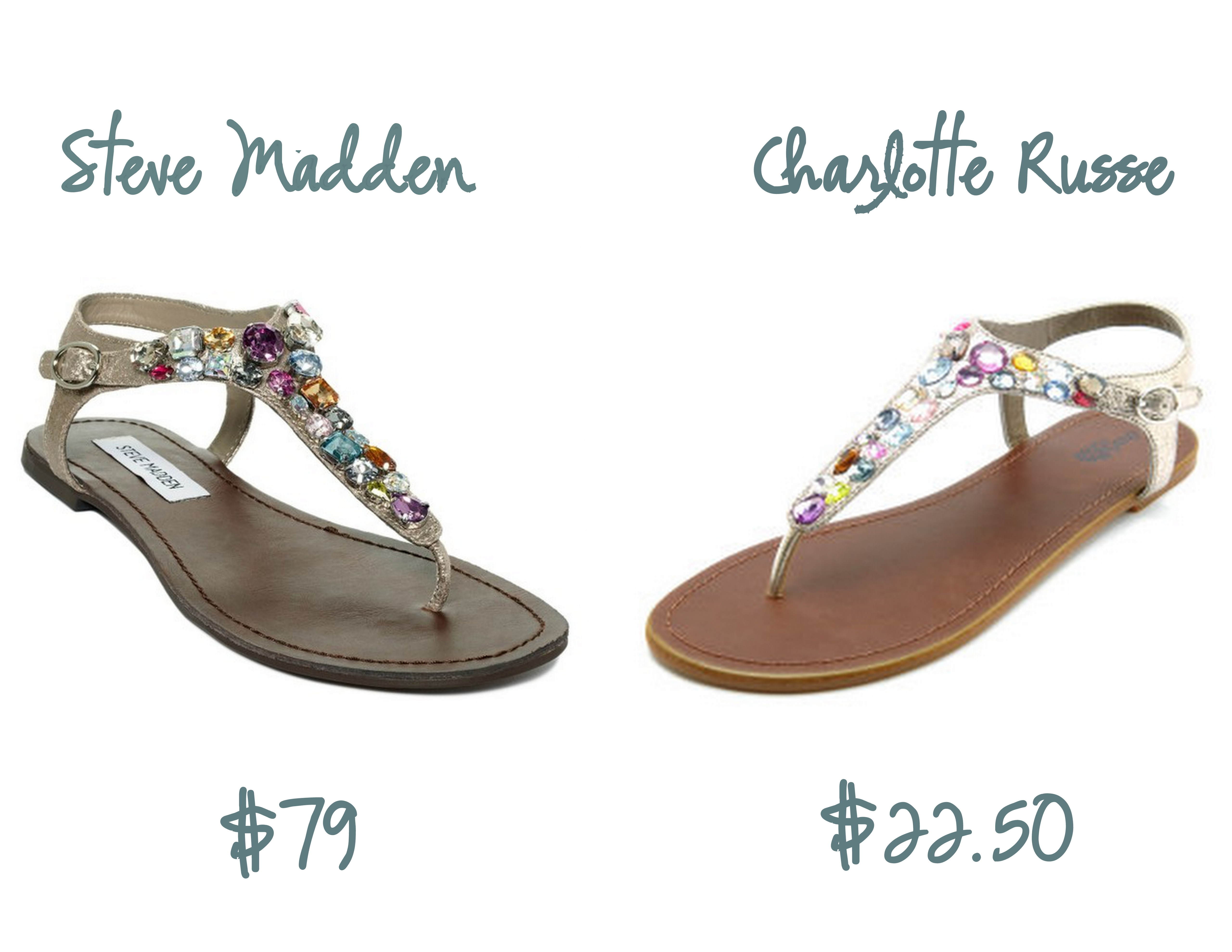 9e351a99fee Crave   Save  Bejeweled Sandals