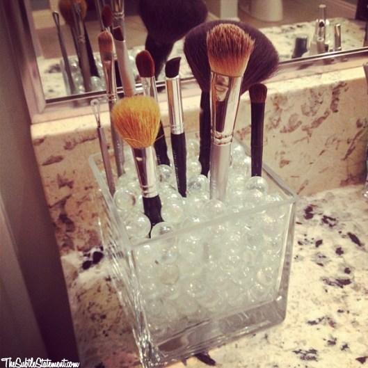 DIY – Makeup Brush Holder | The Subtle Statement