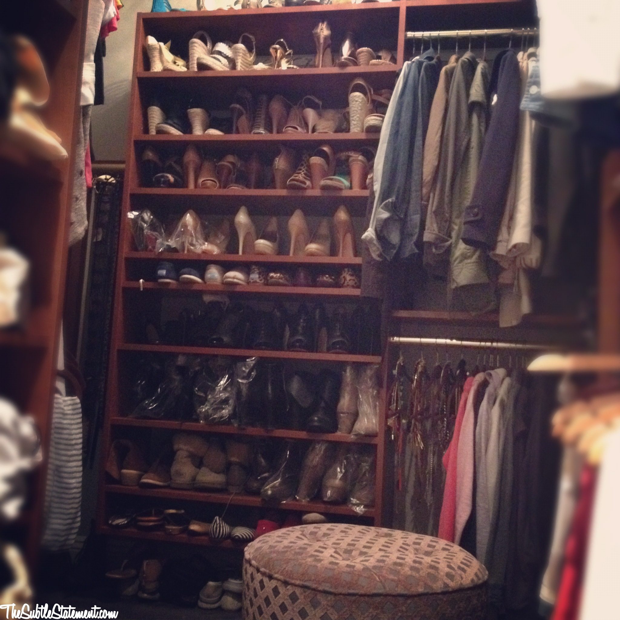My Closet Is Divided Into Sections. Each Section Has A Category, Then A  Subcategory, And Then Organized By Color. This System Is The Most Useful To  Me, ...
