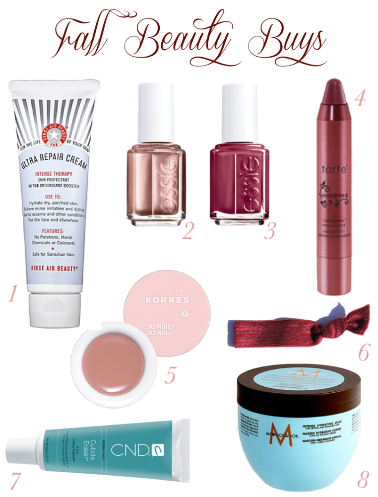 Fall Beauty Buys - The Subtle Statement