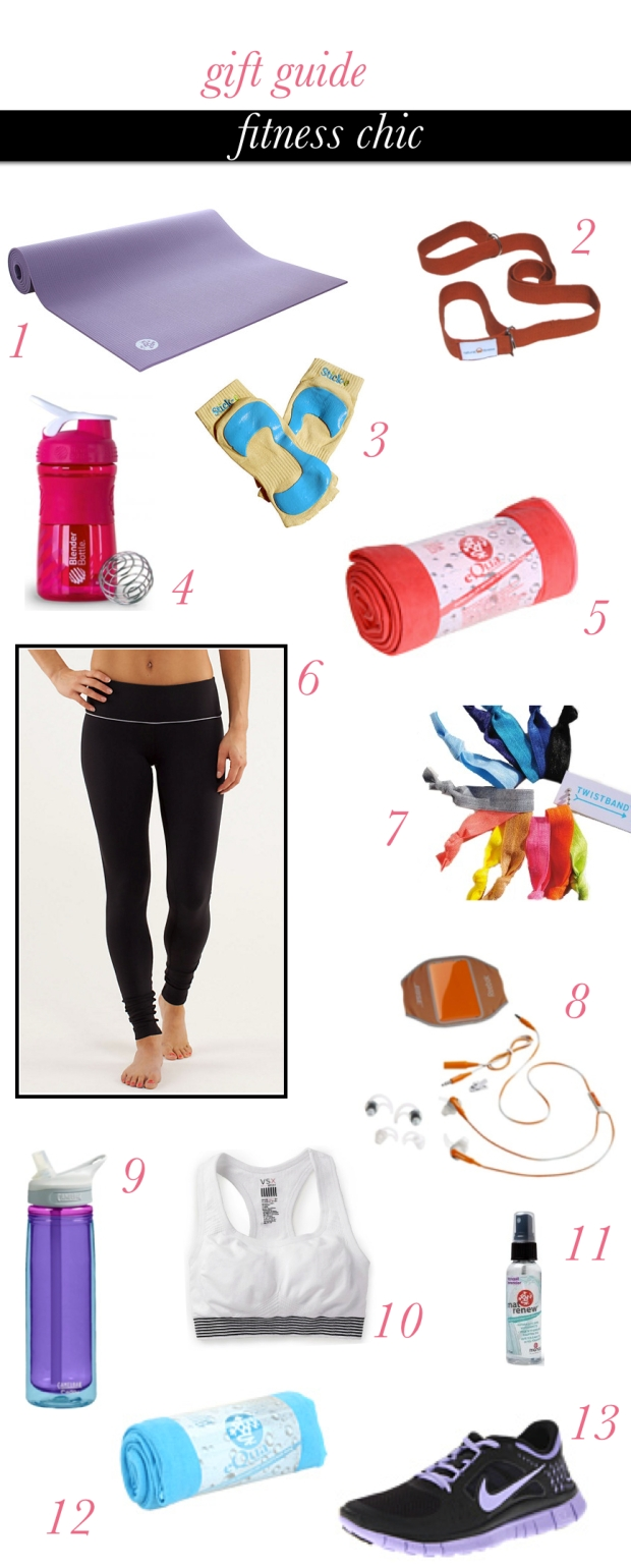 Holiday Gift Guide - Fitness Chic