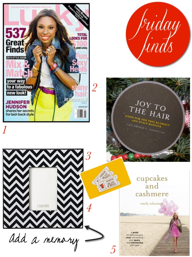 Friday Finds {Fab Last Minute Gifts}