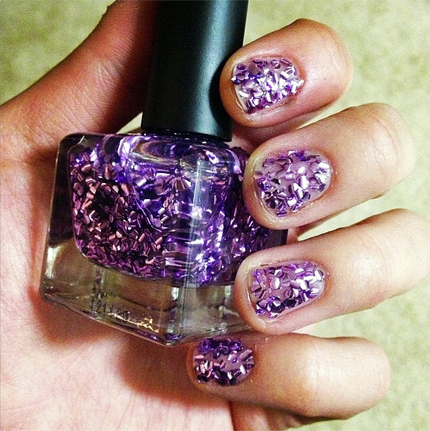 Nail Trend {Chunky Glitter}   The Subtle Statement