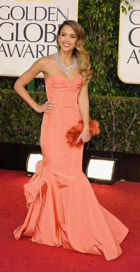 Golden Globes Jessica Alba