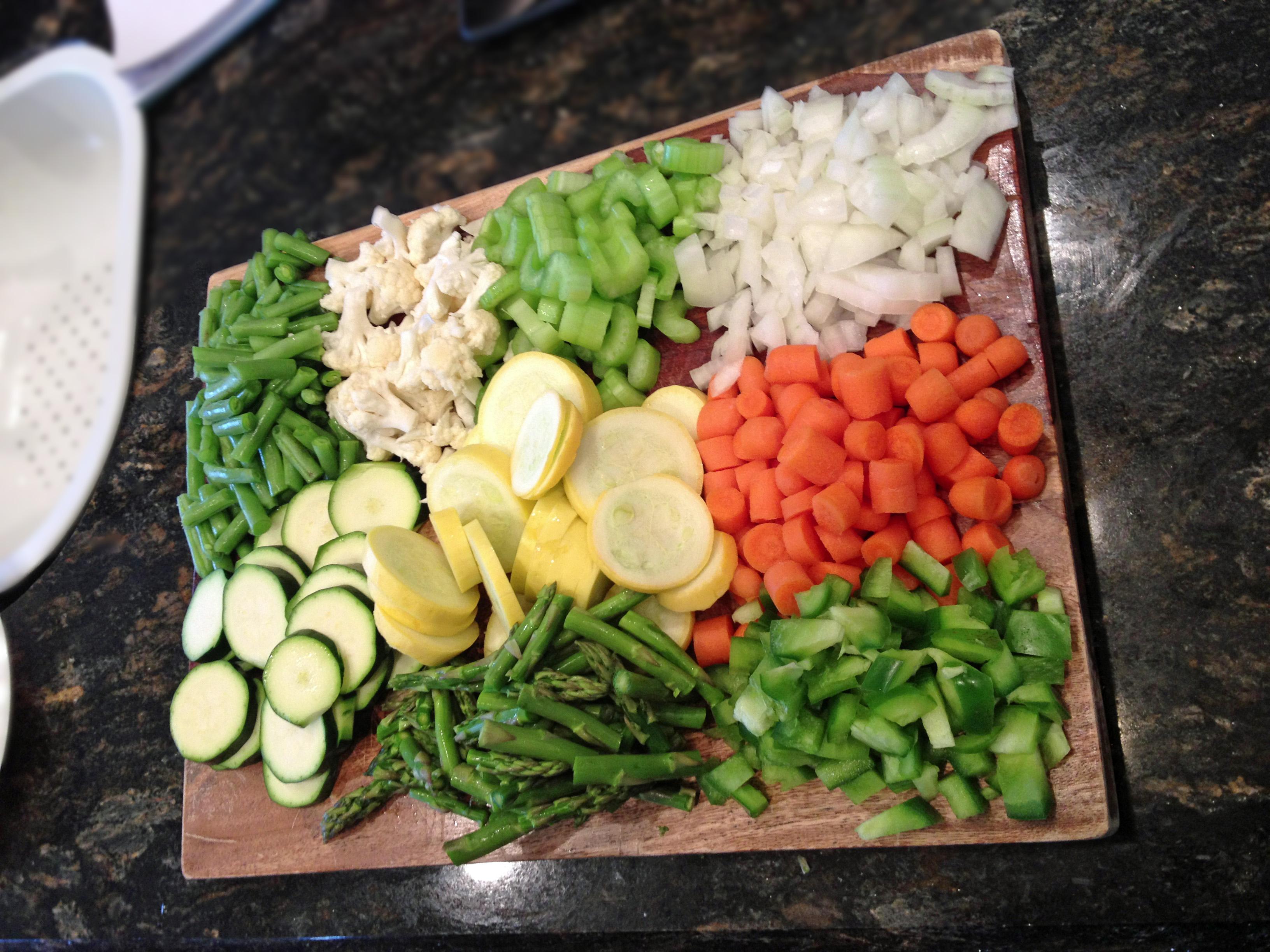 Kitchen Sink Veggie Soup