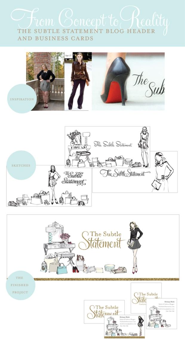 Michelle Baron Illustrations - The Subtle Statement