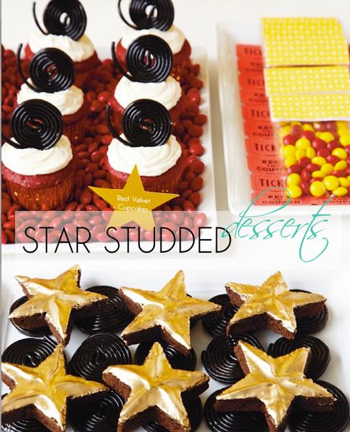 Star Studded Desserts