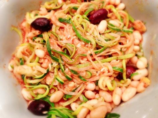 Zucchini Pasta #vegan #glutenfree