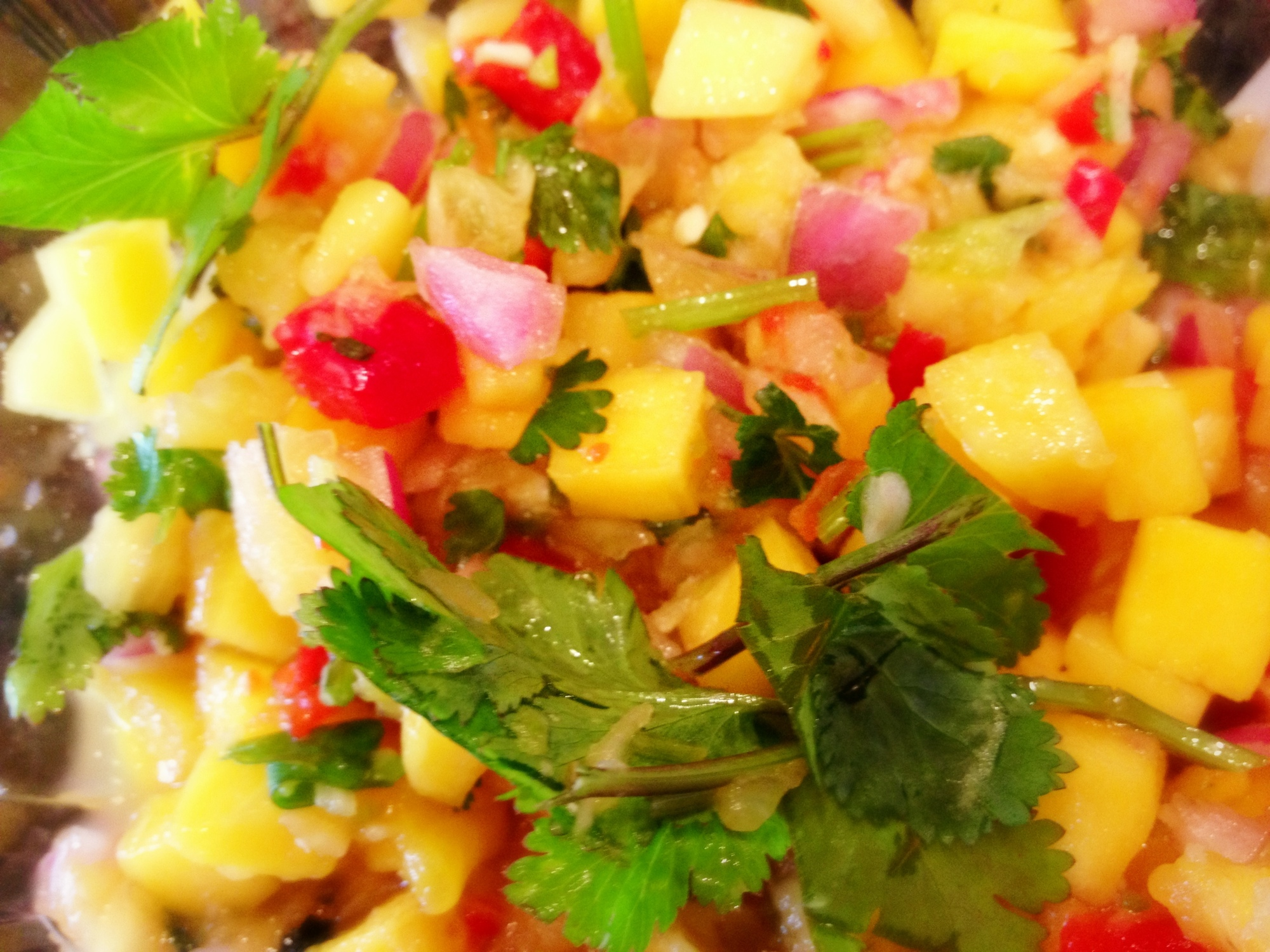 Balsamic Mango Salsa Recipes — Dishmaps