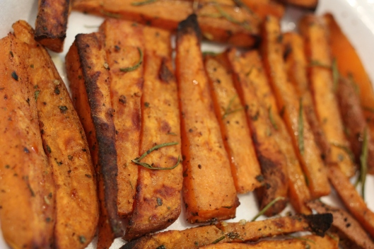 Too Delicious To Dip Sweet Potato Fries
