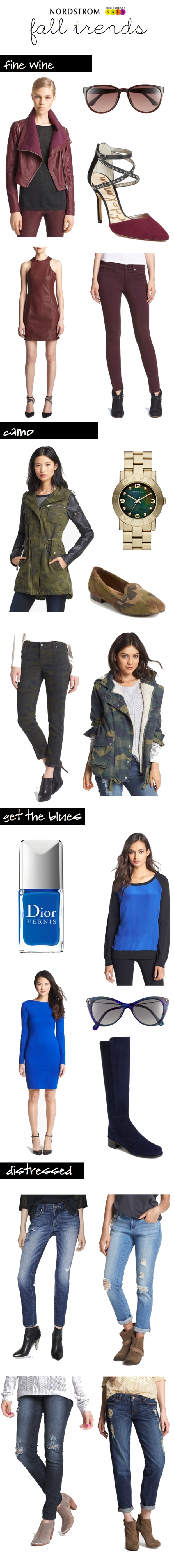 nordstrom anniversary sale - fall trends