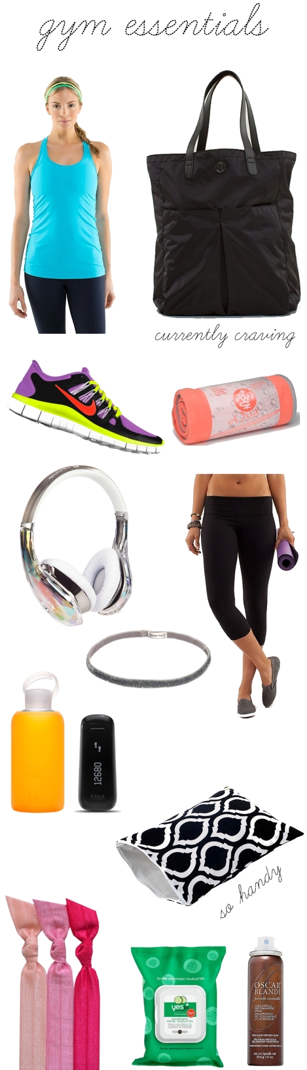 Gym Essentials | TheSubtleStatement.com