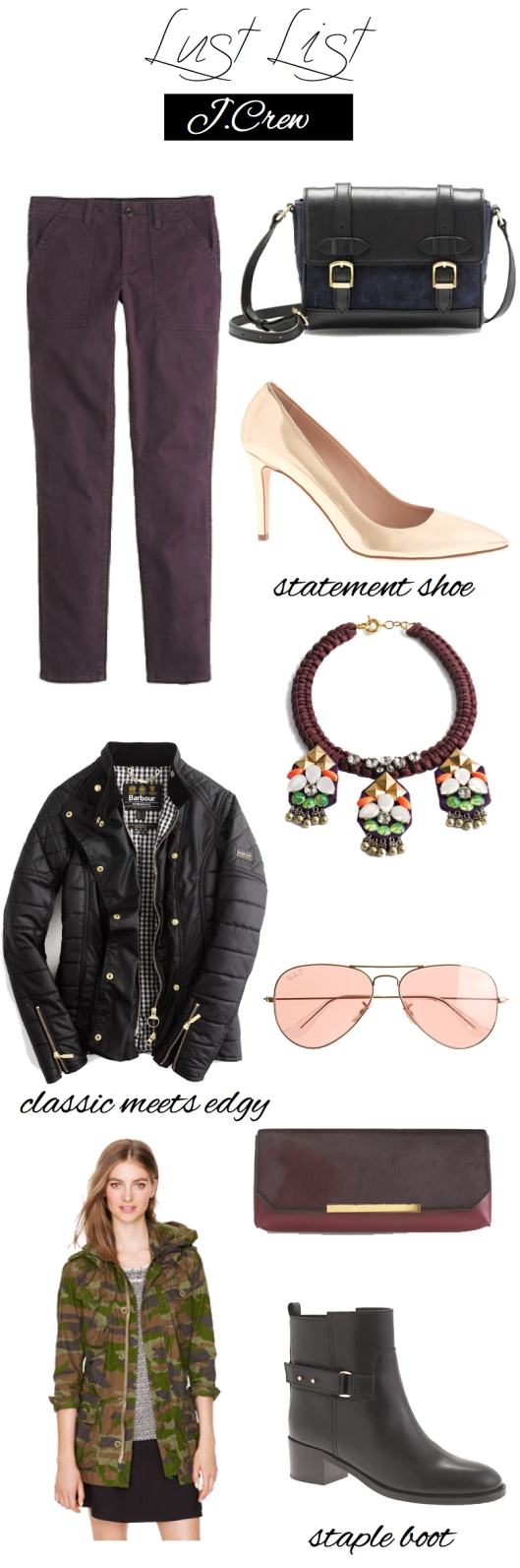 Lust List - J.Crew | TheSubtleStatement.com