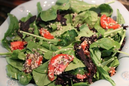 Savory Fall Salad | TheSubtleStatement.com