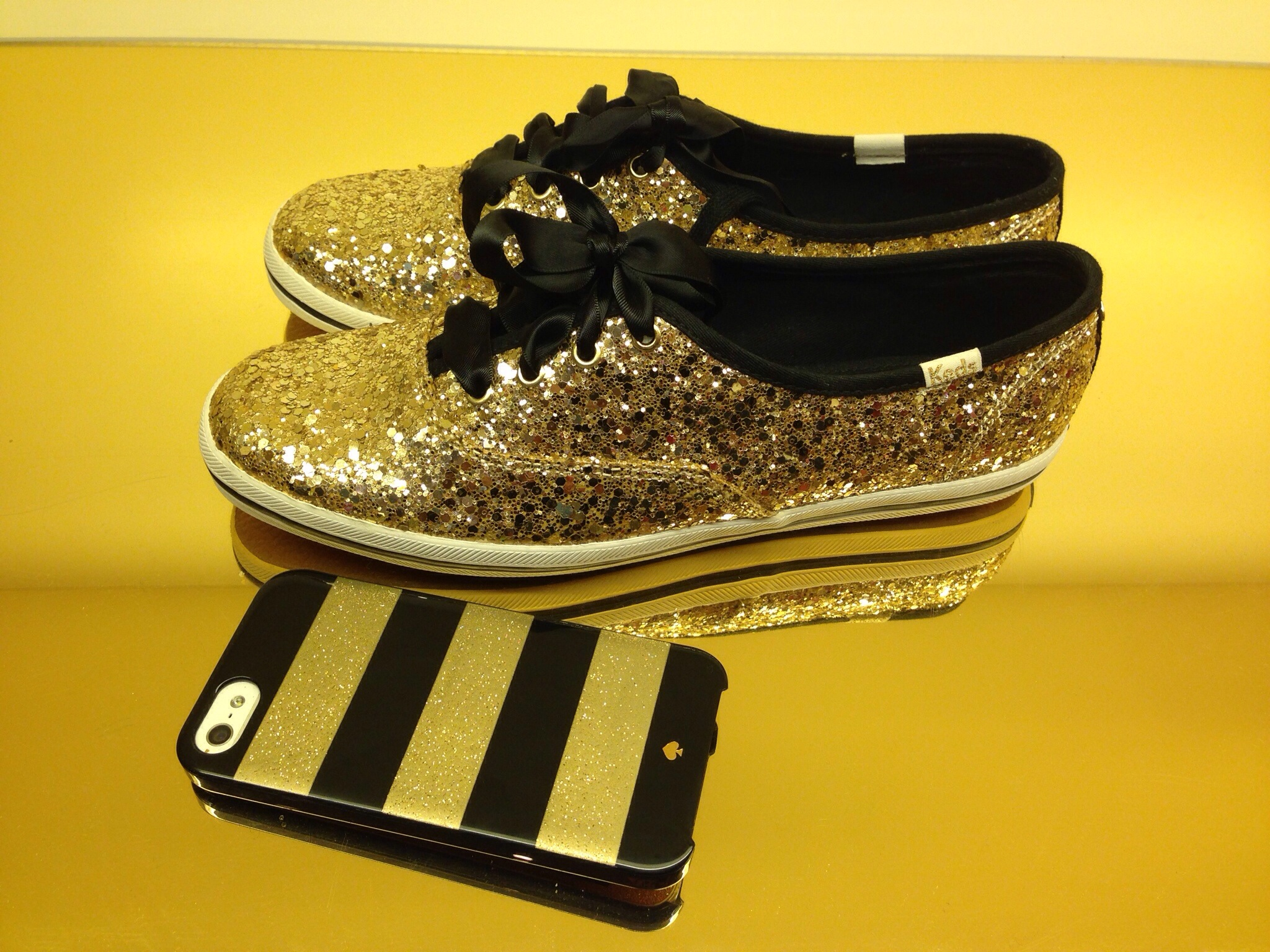 This Week... Glitter, Pumpkins & Sweater Weather | Kate Spade New York Glitter Sneakers