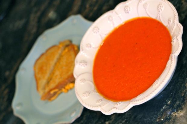 Homemade Tomato Soup | TheSubtleStatement.com