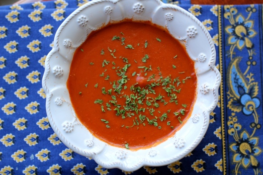 Homemade Tomato Soup | TheSubtleStatement.com