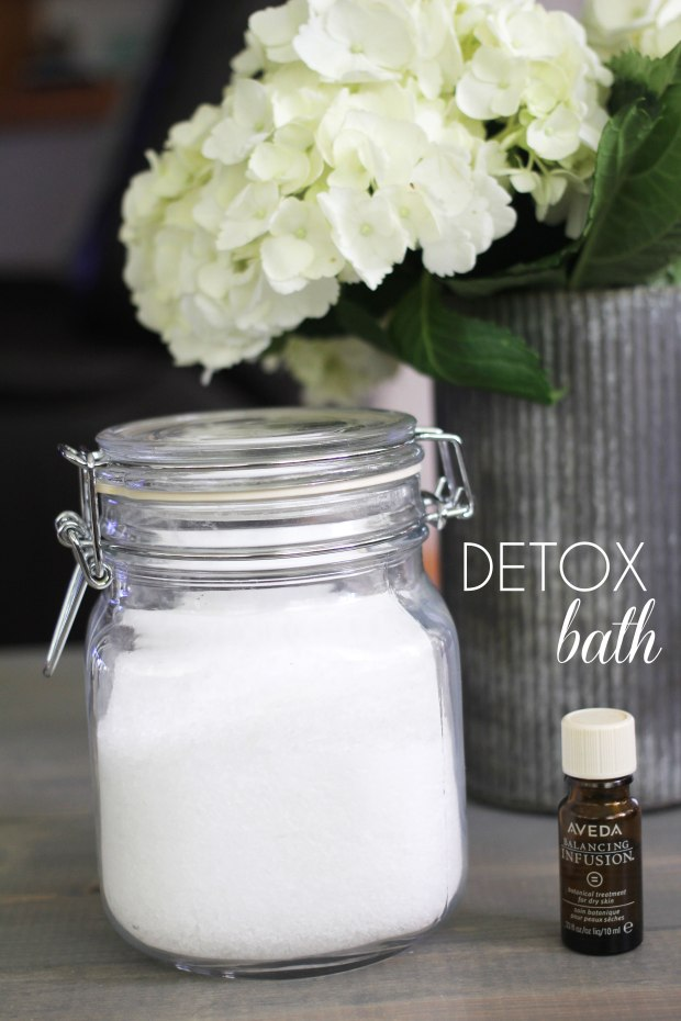 How To Make Any Day a Spa Day   TheSubtleStatement.com    Detox Bath