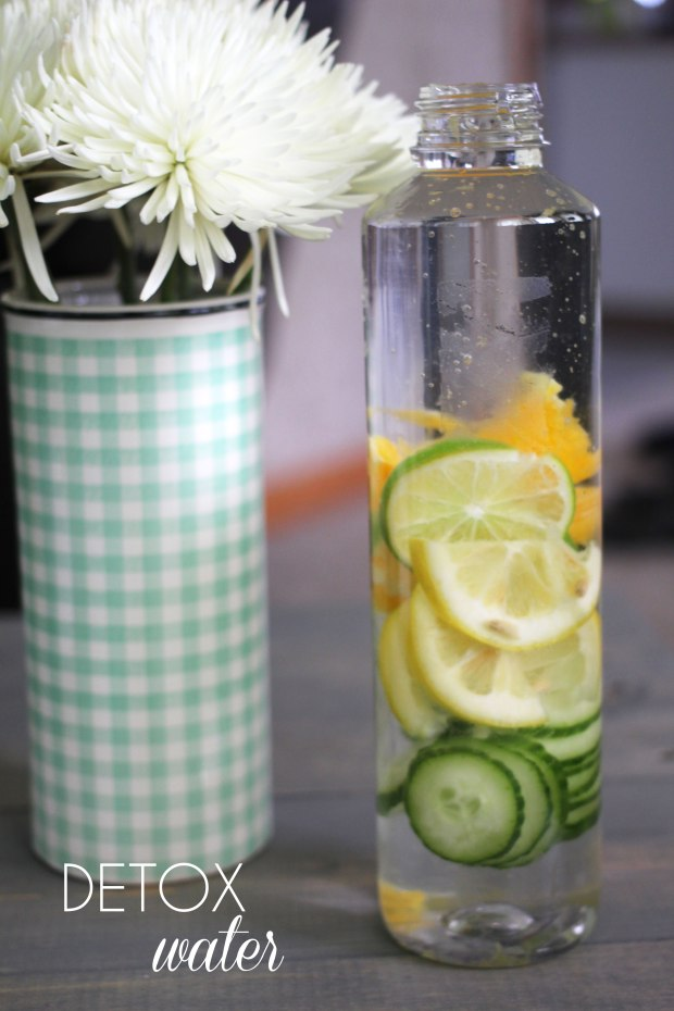 How To Make Any Day a Spa Day   TheSubtleStatement.com   Detox Water