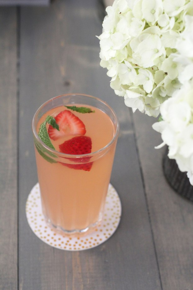 Strawberry Mint Lemonade | TheSubtleStatement.com