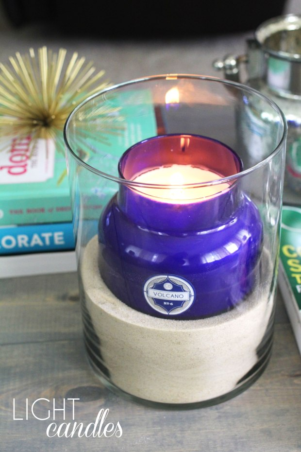 How To Make Any Day a Spa Day   TheSubtleStatement.com    Light Candles