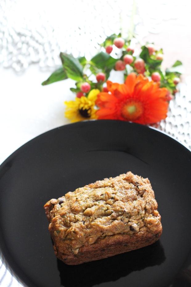 Vegan & Gluten Free Zucchini Bread
