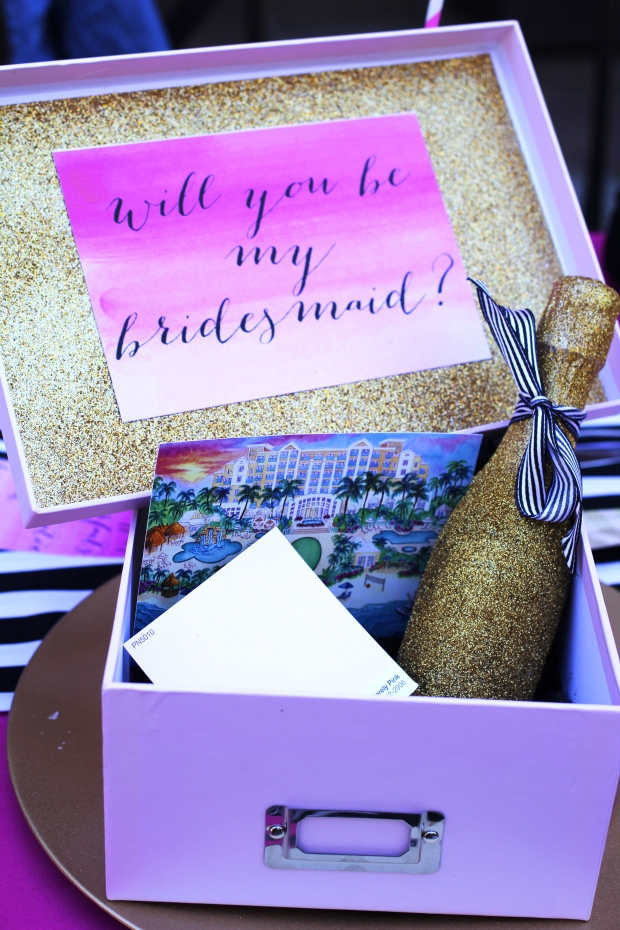 Will You Be My Bridesmaid Box - TheSubtleStatement.com
