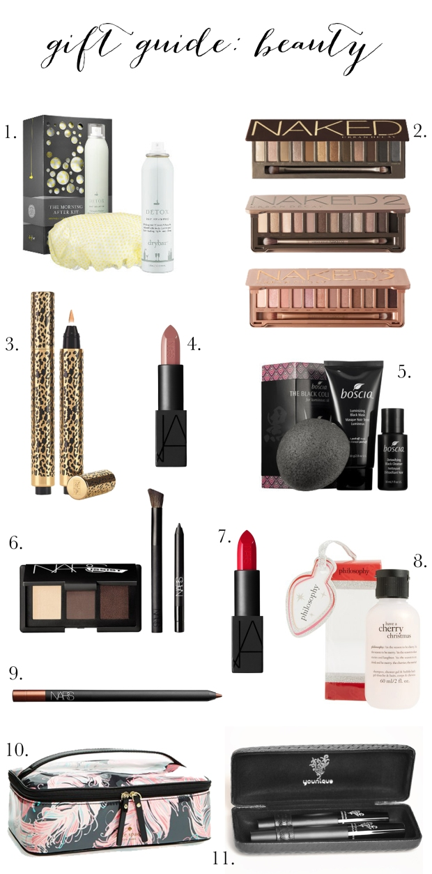 Gift Guide Beauty | TheSubtleStatement.com