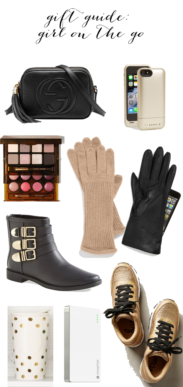 Gift Guide : Girl On The Go | TheSubtleStatement.com