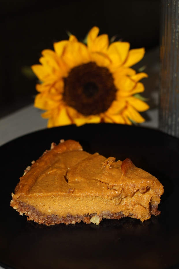 Healthy Pumpkin Pie | TheSubtleStatement.com
