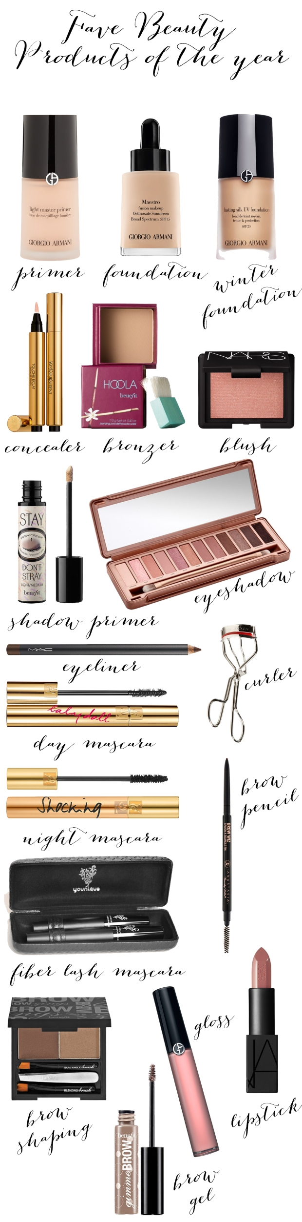 Fave Beauty Products of 2014 | TheSubtleStatement.com