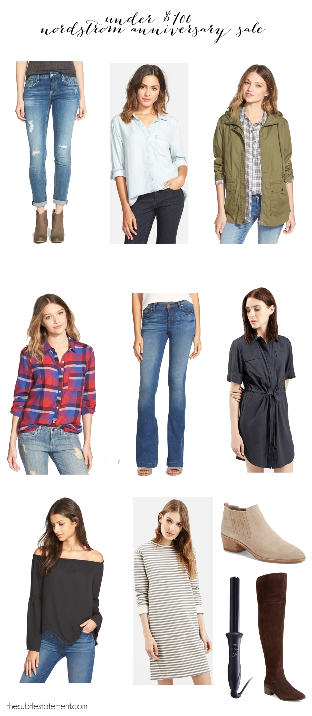 Nordstrom Anniversary Sale | Under $100 | Fall Staples | Fall Basics | TheSubtleStatement.com | #nsale #nordstrom #anniversarysale