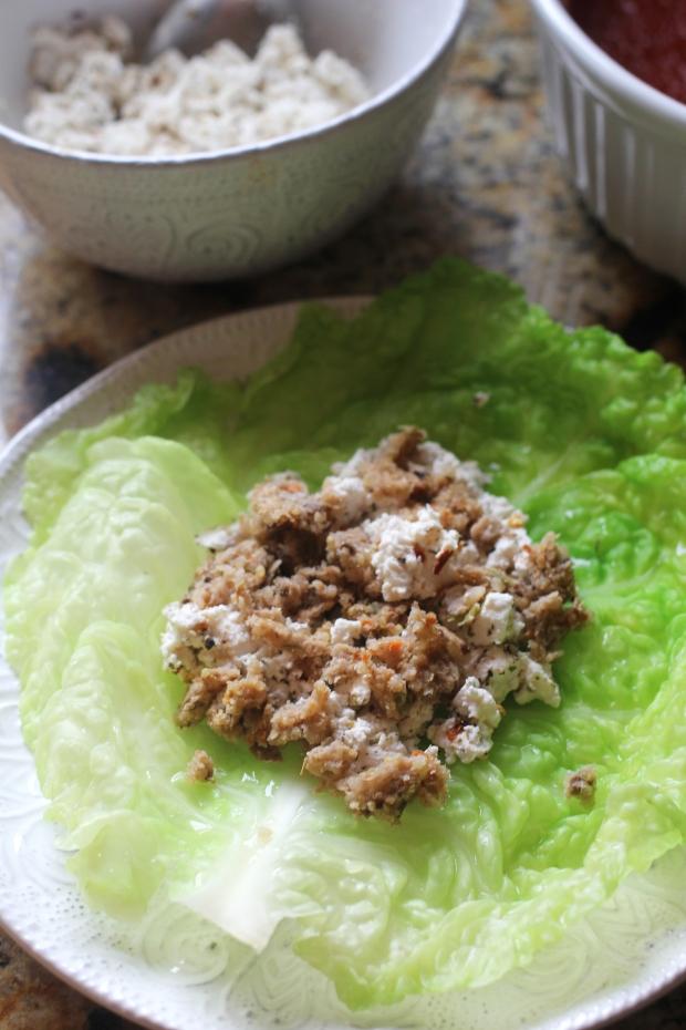 Vegan 'Ricotta' Stuffed Cabbage | TheSubtleStatement.com | #21dayfix #vegan #glutenfree