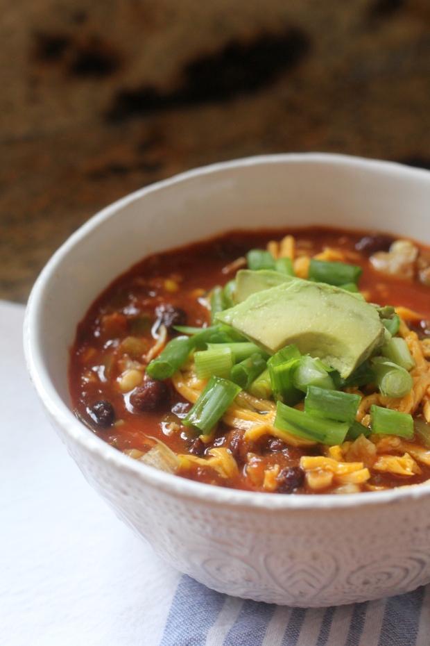 Tortilla Soup | TheSubtleStatement.com #vegan #glutenfree
