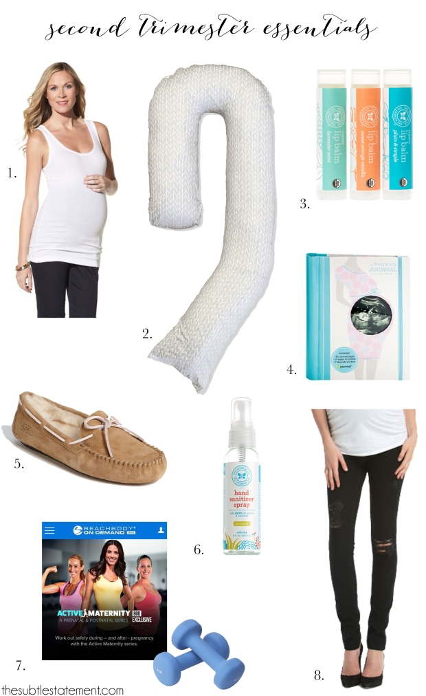 Second Trimester Essentials | TheSubtleStatement.com